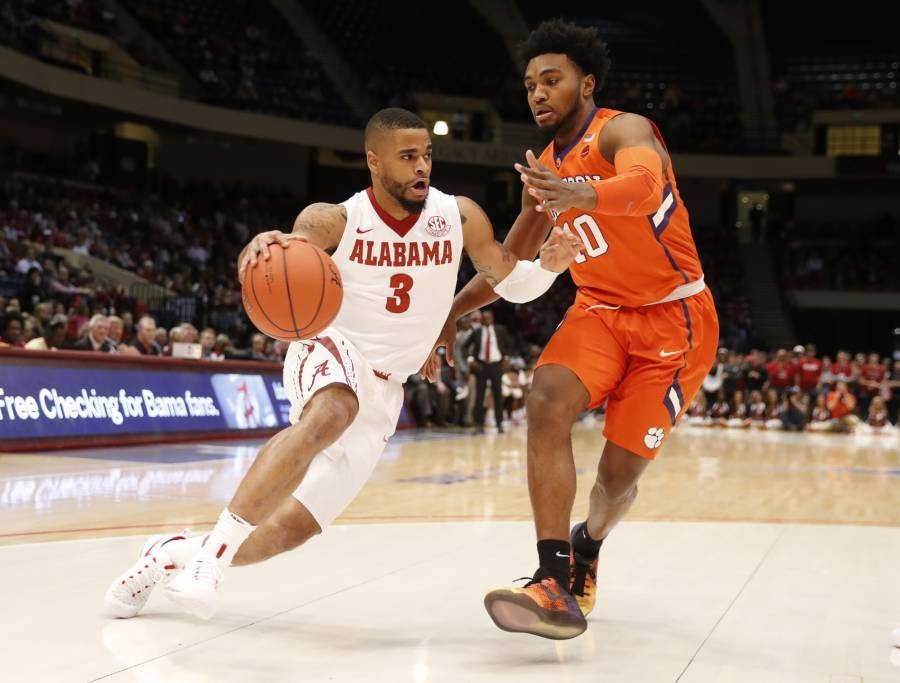 Crimson Tide basketball team falls to Clemson in Birmingham 67-54 (via Crimson Magazine)